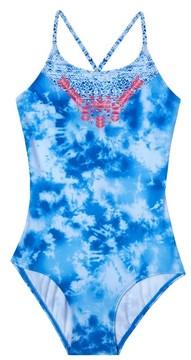 Gossip Girl Girl's Jeans Addiction One-Piece Swimsuit