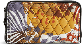 Vera Bradley Painted Feathers Accordion Wallet - PAINTED - STYLE