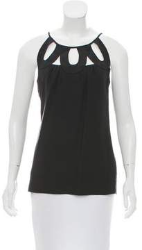Loeffler Randall Sleeveless Silk Top