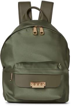 Zac Posen Moss Eartha Small Satin Backpack
