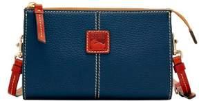 Dooney & Bourke Pebble Grain Small Janine Crossbody Shoulder Bag - MIDNIGHT BLUE - STYLE