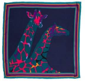 Louis Vuitton Giraffe Silk Square
