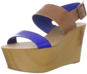 BCBGeneration Women's Kammie Wedge Sandal Blue,8.5