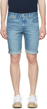 Levi's Levis Blue Denim 511 Shorts