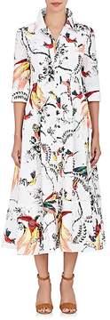 Erdem Women's Kasia Cotton A-Line Shirtdress
