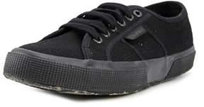 Superga 2750 Cotu Classic Men Round Toe Canvas Black Sneakers.