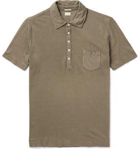 Massimo Alba Wembley Linen-Piqué Polo Shirt