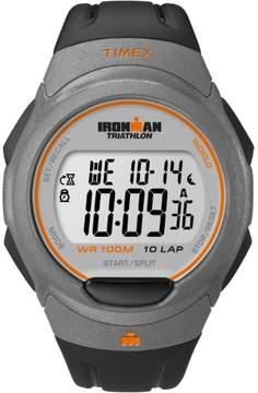 Timex Men's Ironman Essential 10 Full-Size Watch, Black Resin Strap