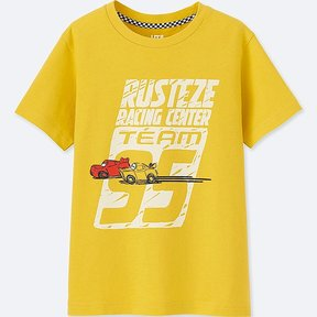Uniqlo Kid's Cars 3 Short-sleeve Graphic T-Shirt