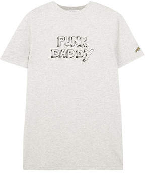 Bella Freud Punk Daddy Printed Cotton-jersey T-shirt - Gray