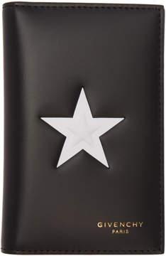 Givenchy Black Star 6CC Card Holder