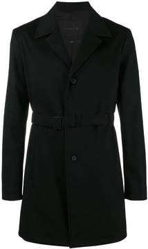 MACKINTOSH 0001 triple layered single breasted overcoat