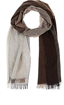 Barneys New York MEN'S COLORBLOCKED WOOL-BLEND SCARF