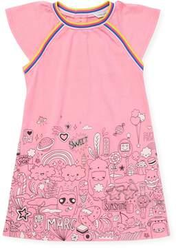 Little Marc Jacobs Little Girl's Graphic T-Shirt Dress