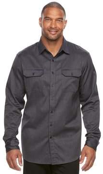 Apt. 9 Big & Tall Jaspe Premier Flex Slim-Fit Stretch Button-Down Shirt