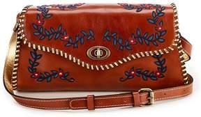 Patricia Nash Provencal Escape Embroidery Collection Merida Cross-Body Bag