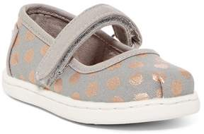Toms Foil Dot Mary Jane Flat (Baby, Toddler, & Little Kid)