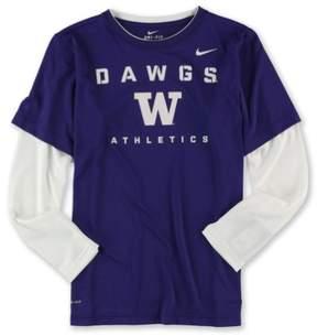 Nike Boys Dawgs Athletic Graphic T-Shirt Purple XL - Big Kids (8-20)