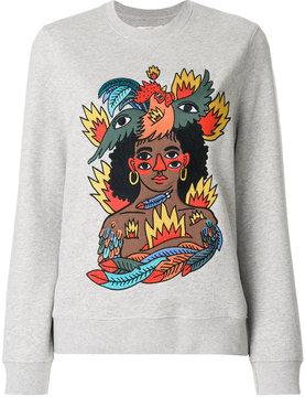 Bally x Swizz Beatz sweatshirt