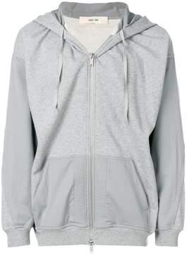 Damir Doma statue print zip hoodie