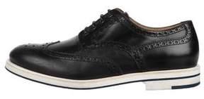 Giorgio Armani Leather Wingtip Brogues