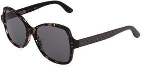 Bottega Veneta Plastic Square Sunglasses