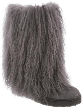 BearPaw Women's Boetis Ii Curly Lamb Boot