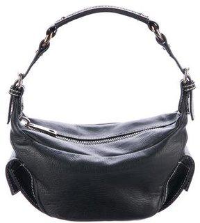 Marc Jacobs Leather Zip Handle Bag - BLACK - STYLE