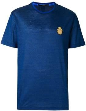 Billionaire front patch T-shirt