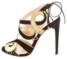 Jerome C. Rousseau Cinoche Suede Sandals w/ Tags