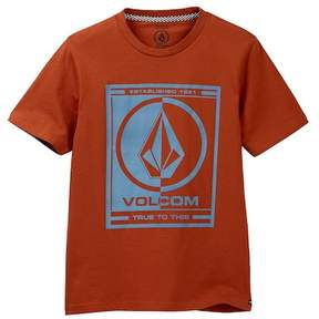 Volcom Slabber Short Sleeve Slim Tee (Big Boys)