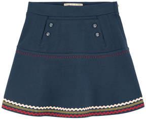 Scotch & Soda Ethnic milano jersey skirt