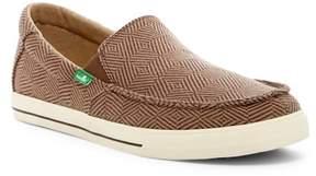 Sanuk Sideline Checked Slip-On Sneaker
