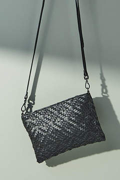 Deux Lux Eldridge Woven Crossbody Bag