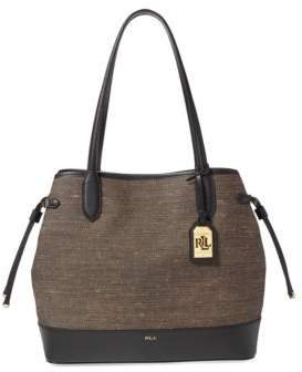 Lauren Ralph Lauren Canvas Medium Adalyn Tote Bag