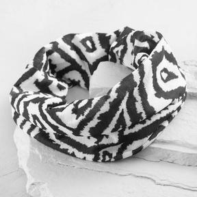 Black and White Geometric Headband