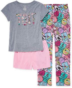 Arizona 3pc.TGIF Pajama Set Girls & Plus