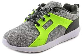 Carter's Avant Youth Round Toe Canvas Gray Sneakers.