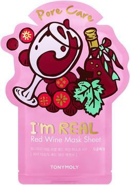 Tony Moly TONYMOLY I'm Real Holiday Red Wine Face Mask