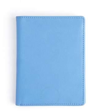 Royce Leather Royce Light Blue RFID Blocking Passport Document Wallet