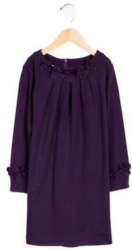Florence Eiseman Girls' Appliqué-Accented Pleated Dress