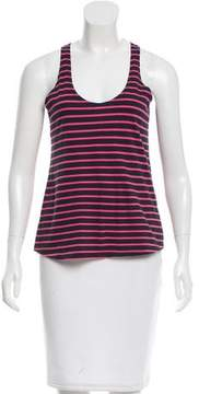Chinti and Parker Striped Sleeveless Top