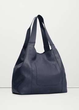 Mango Outlet Pocket hobo bag