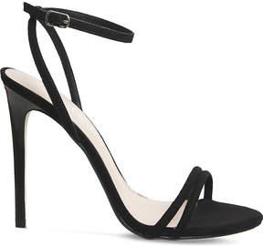 Office Hibiscus suede sandals