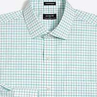 J.Crew Factory Plaid flex wrinkle-free dress shirt