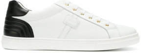 Dolce & Gabbana ribbed detail lace-up sneakers