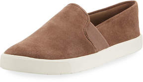 Vince Preston Suede Platform Sneaker, Beige