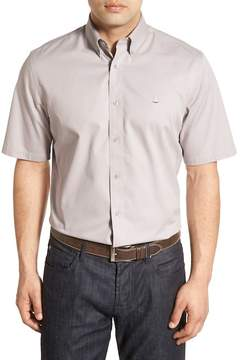 Nordstrom Traditional Fit Short Sleeve Sport Shirt