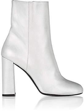 Barneys New York Women's Metallic Leather Ankle Boots