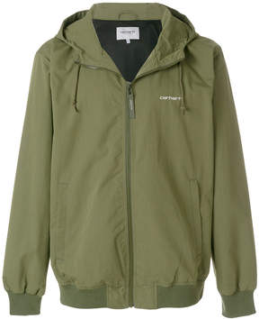 Carhartt hooded bomber jacket